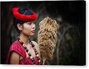 Polynesian Beauty Canvas Print by Ralf Kaiser