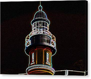 Ponce Inlet Lighthouse Canvas Print by Dennis Dugan