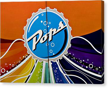 Pops Iv Canvas Print by Malania Hammer