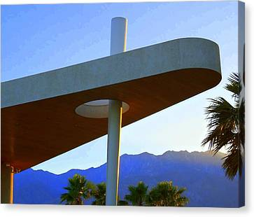 Porte Cochere 3 Canvas Print by Randall Weidner
