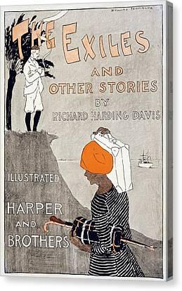 Poster Advertising Richard Harding Canvas Print by Everett