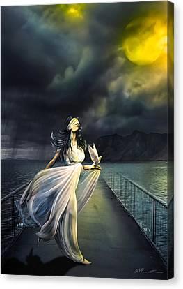 Power Of Faith Canvas Print by Svetlana Sewell