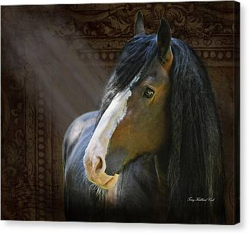 Powerful Paul The Legend Canvas Print by Terry Kirkland Cook