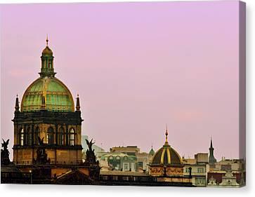 Prague - A Living Fairytale Canvas Print by Christine Till