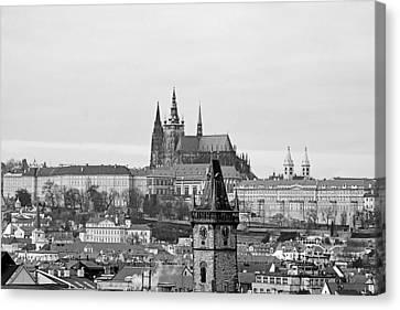 Prague - City Of A Hundred Spires Canvas Print by Christine Till