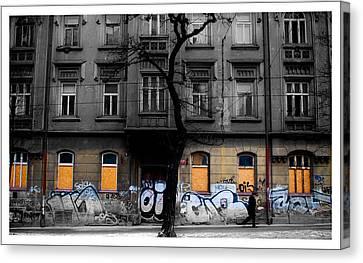 Prague Street Canvas Print by Mark Britten