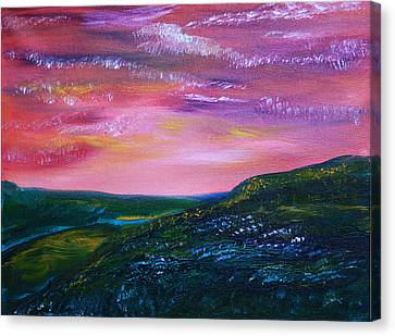 Prairie Lights Canvas Print by James Bryron Love