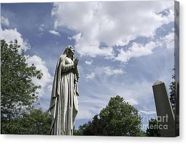 Praying In The Sky.02 Canvas Print by John Turek