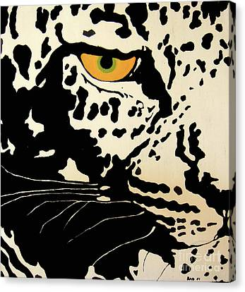 Preditor Or Prey Canvas Print by Boyd Art