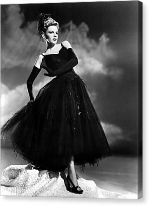Presenting Lily Mars, Judy Garland, 1943 Canvas Print by Everett