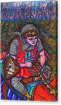 Prince Aaron Canvas Print by Al Goldfarb