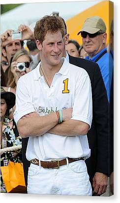 Prince Harry In Attendance For Veuve Canvas Print by Everett