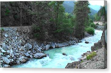 Pristine River Canvas Print by Aamir Khayam