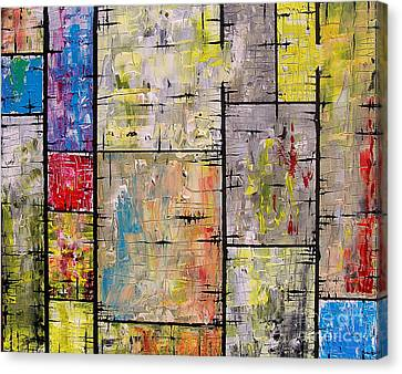 Private Lives Canvas Print by Jose Miguel Barrionuevo