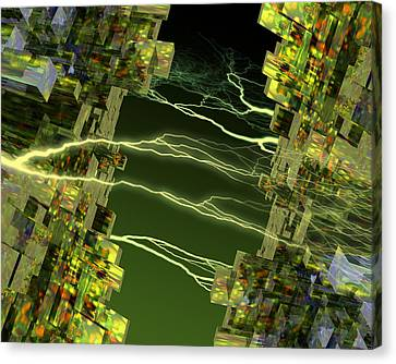 Processor Power Canvas Print by Victor Habbick Visions