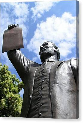 Proclamation Of Emancipation Canvas Print by Sarah Broadmeadow-Thomas