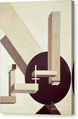Proun 10 Canvas Print by El Lissitzky