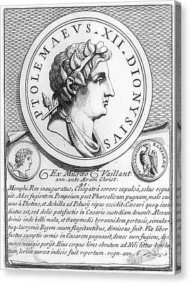 Ptolemy Xiii (63-47 B.c.) Canvas Print by Granger