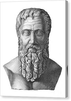 Publius Pertinax (126-193) Canvas Print by Granger