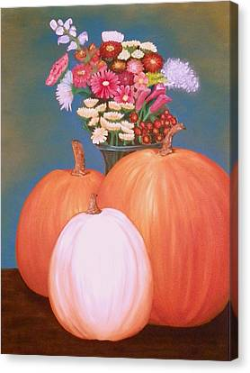 Pumpkin Canvas Print by Amity Traylor