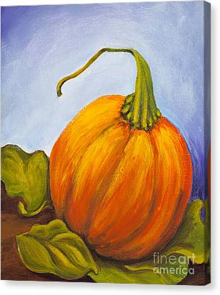 Pumpkin Canvas Print by Nicole Okun