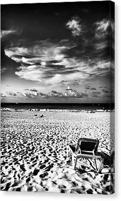 Punta Cana Lounge Canvas Print by John Rizzuto