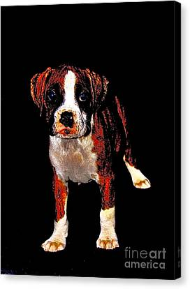 Pup 2 Canvas Print by Xn Tyler