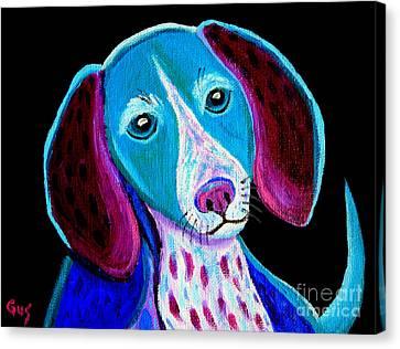 Puppy Love Canvas Print by Nick Gustafson