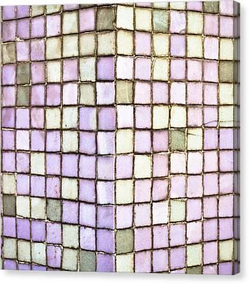 Purple Tiles Canvas Print by Tom Gowanlock