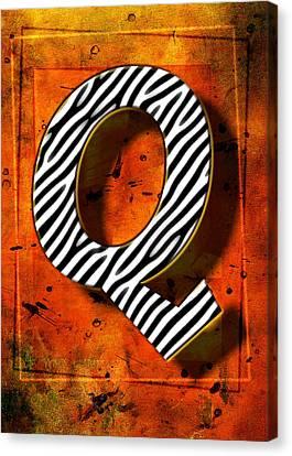 Q Canvas Print by Mauro Celotti