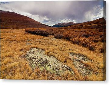 Quanella Pass Canvas Print by Dragonfly 7