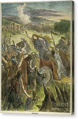Queen Boadicea, 1st Cent Canvas Print by Granger