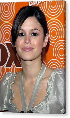 Rachel Bilson At Arrivals For Sweep Up Canvas Print by Everett
