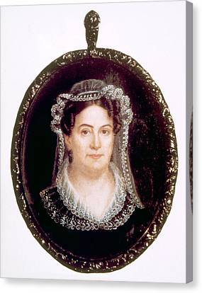 Rachel Jackson 1767-1828, Wife Canvas Print by Everett