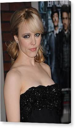 Rachel Mcadams At Arrivals For Sherlock Canvas Print by Everett