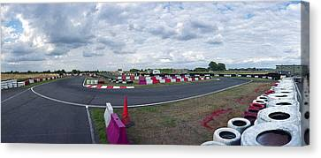 Raf Fulbeck Taxiway Canvas Print by Jan Faul