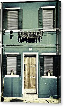 rags in Venice Canvas Print by Joana Kruse
