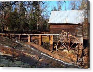 Ragsdale Mill Canvas Print by Rick Mann