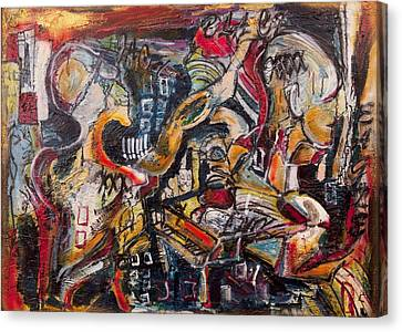 Raidial Obscure  Canvas Print by Jon Baldwin  Art