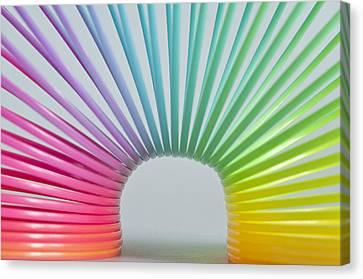 Rainbow 2 Canvas Print by Steve Purnell