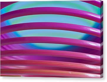 Rainbow 4 Canvas Print by Steve Purnell