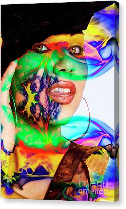 Rainbow Beauty Canvas Print by Clayton Bruster