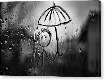 Raining Again Canvas Print by Sunkies Fang