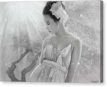 Rapture In The Light Canvas Print by Tim Dangaran