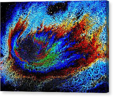 Re-entry Canvas Print by Samuel Sheats