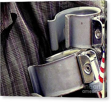 Real Patriot Canvas Print by Joe Jake Pratt