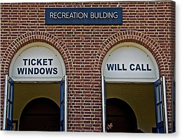 Rec Hall Canvas Print by Tom Gari Gallery-Three-Photography