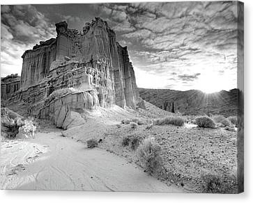 Red Rock Canyon State Park Canvas Print by David Kiene