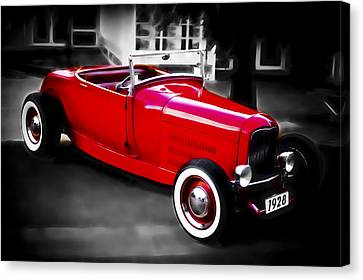 Red Rod Canvas Print by Phil 'motography' Clark