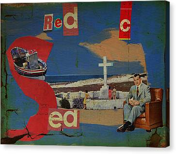 Red Sea Canvas Print by Adam Kissel